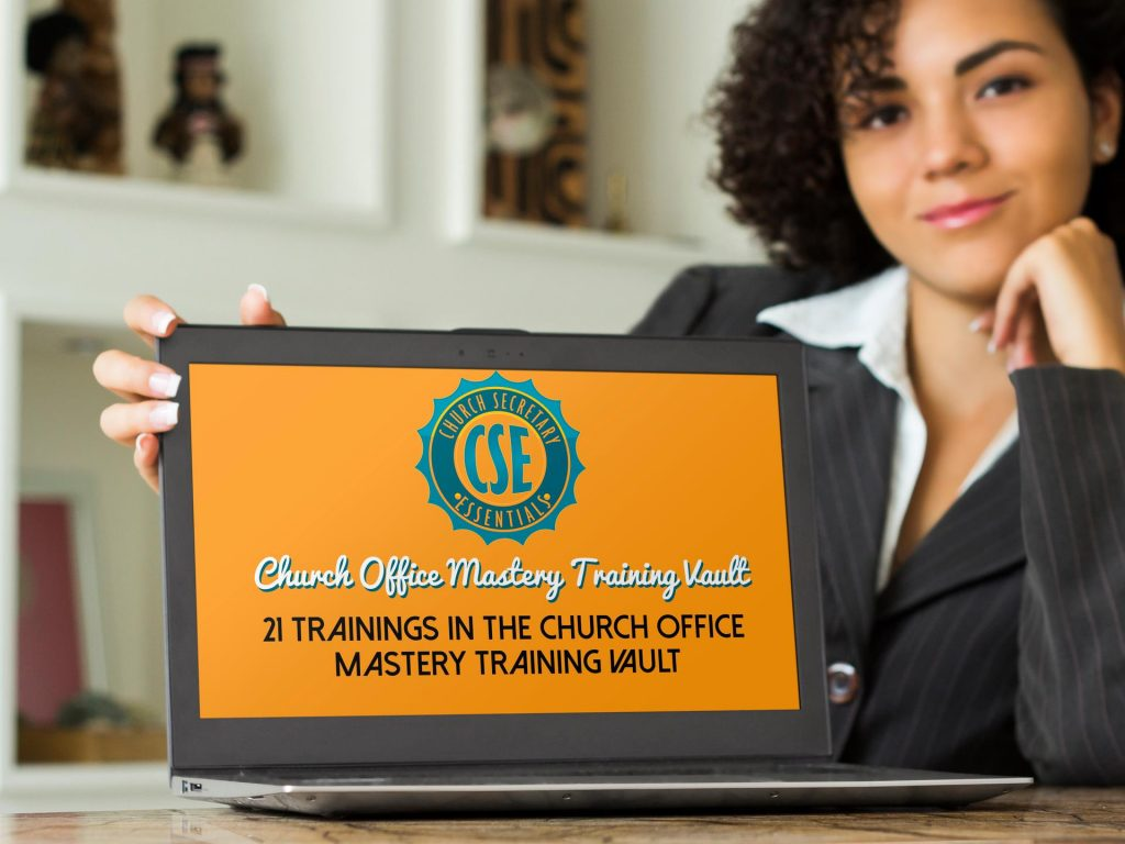 Get the Church Office Mastery Training Vault